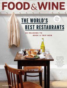 Food & Wine USA – September 2019