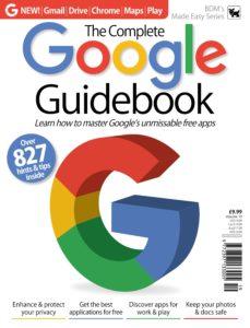 Google Complete Manual – Vol 19 , 2019