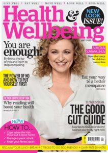 Health & Wellbeing – September 2019