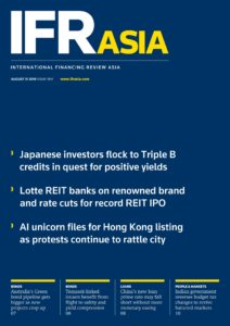 IFR Asia – August 31, 2019