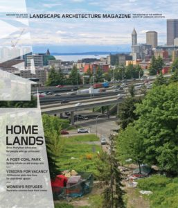 Landscape Architecture Magazine USA – August 2019