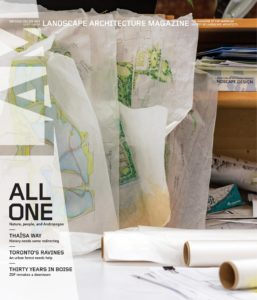 Landscape Architecture Magazine USA – September 2019