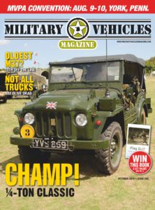 Military Vehicles – October 2019