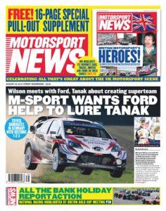 Motorsport News – August 28, 2019