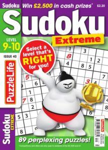 PuzzleLife Sudoku Extreme – August 2019