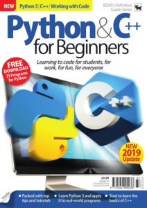Python & C++ for Beginners – Vol 33, 2019