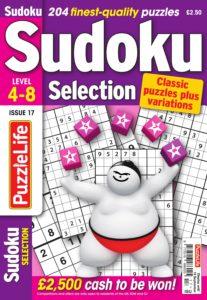 Sudoku Selection – August 2019