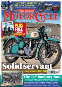The Classic MotorCycle – September 2019
