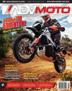 Adventure Motorcycle (ADVMoto) – September-October 2019