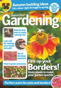 Amateur Gardening – 21 September 2019