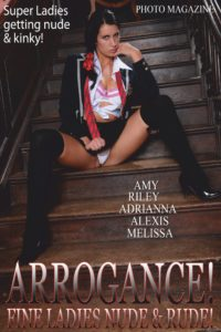 Arrogance Adult Photo Magazine – September 2019
