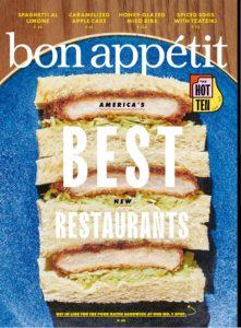 Bon Appetit – October 2019