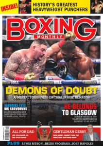 Boxing Monthly – October 2019