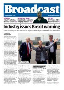Broadcast Magazine – 13 September 2019