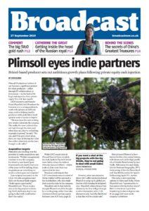 Broadcast Magazine – 27 September 2019