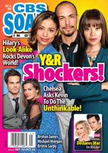 CBS Soaps In Depth – October 14, 2019