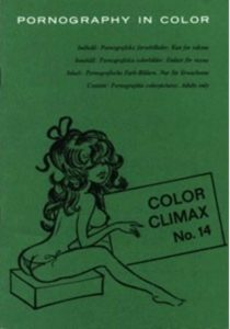 COLOR CLIMAX (Vintage Adult Magazine), Issue 14