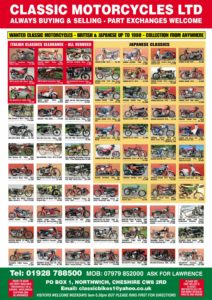 Classic Bike Guide – October 2019