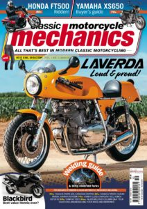 Classic Motorcycle Mechanics – October 2019