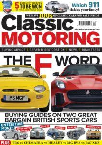 Classic Motoring – October 2019
