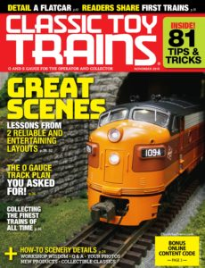 Classic Toy Trains – November 2019