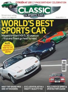 Classic & Sports Car UK – October 2019