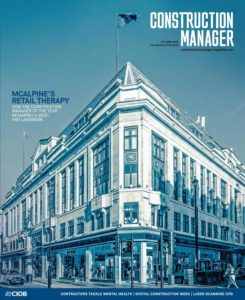 Construction Manager – October 2019