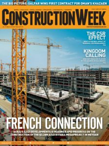 Construction Week Middle East – August 31, 2019