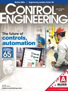 Control Engineering – September 2019