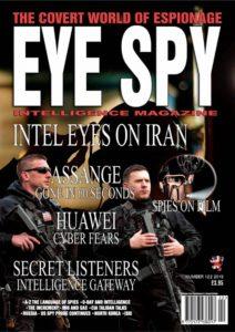 Eye Spy – Number 122 2019