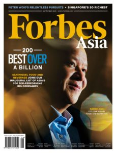 Forbes Asia – September 2019