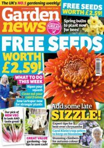 Garden News – 17 September 2019