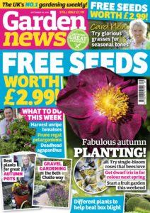 Garden News – 24 September 2019