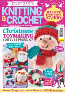 Let's Get Crafting Knitting & Crochet – November 2019