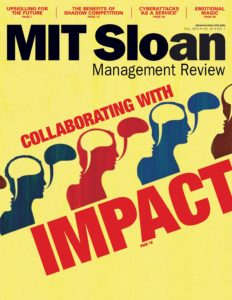 MIT Sloan Management Review – Fall 2019