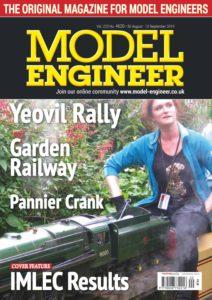 Model Engineer – 30 August 2019