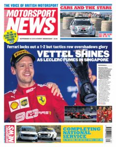 Motorsport News – September 25, 2019
