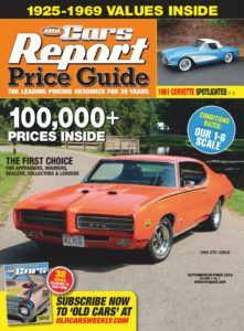 Old Cars Report Price Guide – September 2019