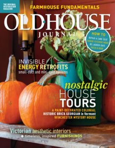 Old House Journal – October 2019