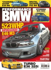 Performance BMW – August 2019