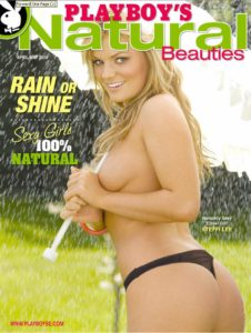 Playboys Natural Beauties – April-May 2009