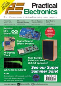 Practical Electronics – September 2019