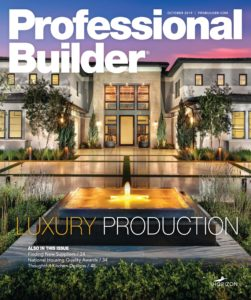 Professional Builder – October 2019