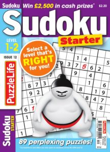 PuzzleLife Sudoku Starter – September 2019