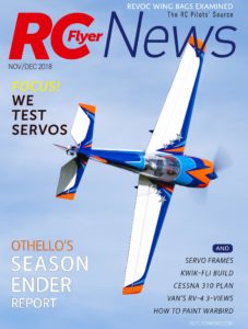 RC Flyer News – November-December 2018