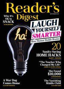 Readers Digest USA – September 2019