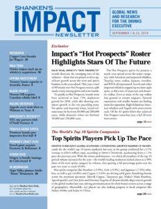 Shankens Impact Newsletter – September 01, 2019