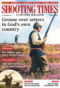 Shooting Times & Country – 11 September 2019