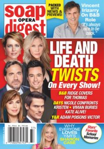 Soap Opera Digest – September 16, 2019