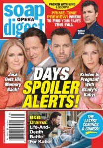Soap Opera Digest – September 30, 2019
